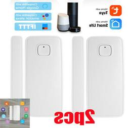 1/2/4 WiFi Smart Window Door Detector Sensor Home Security E