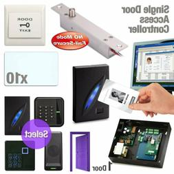 1 Door Access Control Board RFID Security Kit + Electric Bol