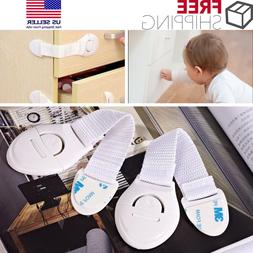12 Pack Baby Infant Child Safety Lock Latch Cabinet Drawers