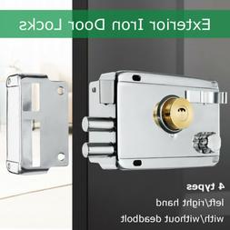 120x85mm Exterior Iron Door Locks Security Anti-theft Lock M