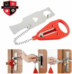 2Set Portable Door Lock Hardware Safety Security Tool Home P