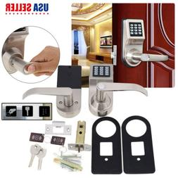 4-In-1 Door Lock Electronic Smart Code Entry Security Knob