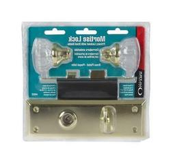 44622 Old Time Mortise Lock Crystal Knob and Latch Set Skele