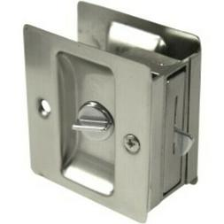 Weslock 577 Privacy Pocket Door Pocket Door Lock; Satin Nick