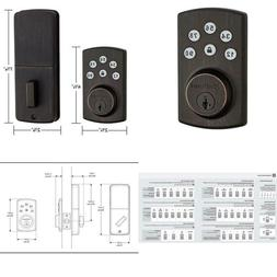 907 powerbolt 2 0 electronic deadbolt featuring