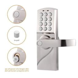 Digital Electronic/Code Keyless Keypad Security Entry Door L