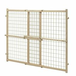 Evenflo Position and Lock Tall Pressure Mount Wood Gate