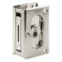 Prime-Line Products N 7367 Pocket Door Privacy Lock with Pul