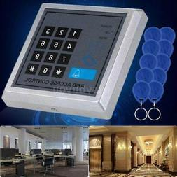RFID Security Reader Entry Door Lock Keypad Access Control S