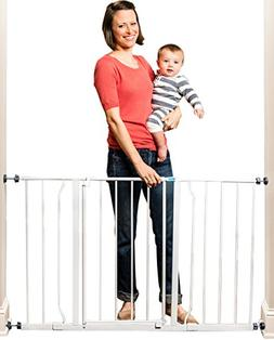 Regalo Easy Open Extra Wide 47 Inch Baby Gate, Bonus Kit, In
