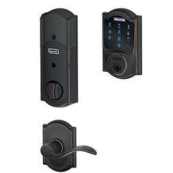 Schlage Lock Company BE468CAM716 Connect Camelot Touchscreen