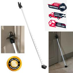 Securityman 2-in-1 Adjustable Door Knob Jammer & Sliding Pat