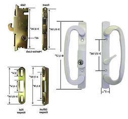 Sliding Glass Patio Door Handle Kit Mortise Lock and Keepers