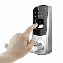 Ultraloq UL3 Fingerprint and Touchscreen Keyless Smart Lever