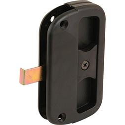 A 186 Sliding Screen Door Latch and Pull with Screws, Black