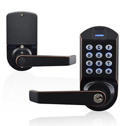 Ardwolf A1 Fingerprint Door Lock, Keyless Biometric Keypad L