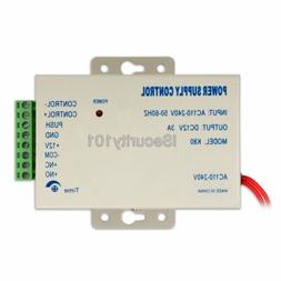AC 110-220V DC12V 3A Power Supply for Door Access Control Sy