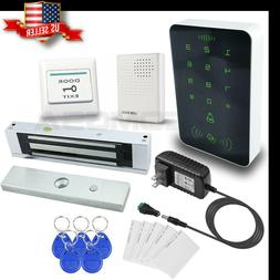 Access Control KIT  Electric Door Lock Magnetic Access ID Ca