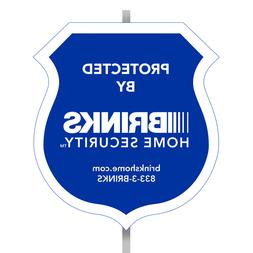 BRINKS ADT SIMPLY SAFE HOME SECURITY ALARM YARD SIGNS DECALS