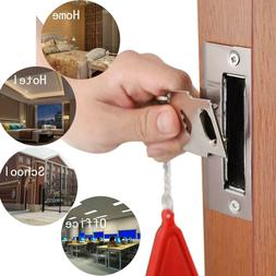Anti-theft Portable Door Lock Safety Security Tool for Home
