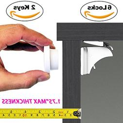 Baby & Child Proof Cabinet & Drawers Magnetic Safety Locks -