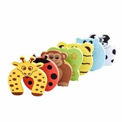 Baby Kids Animal Safety Door Stopper Finger Protector Pinch