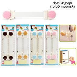 Sealive 8pcs Baby Safety Locks Safety Child Cabinet Locks Su