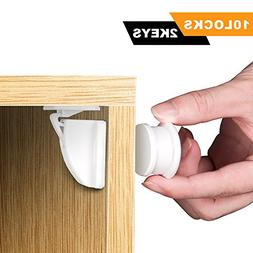 Baby Safety Magnetic Cabinet Locks & Latches , Children Proo