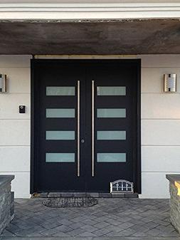 Belle# Modern Stainless Steel Sus304 Entrance Entry Commerci