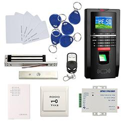 Bio Fingerprint Reader and RFID Card Door Access Control Sys