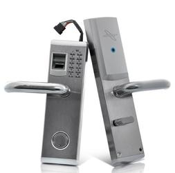 "Biometric Fingerprint Door Lock ""Aegis"" - Deadbolt, Right Ha"