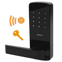Bluetooth Electronic Keyless Lever Door Lock,Touchscreen Sma