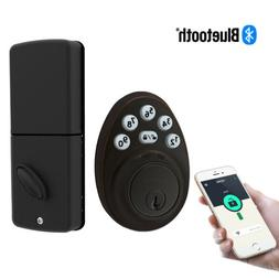 Signstek Bluetooth Keypad Deadbolt Door Lock Single Cylinder