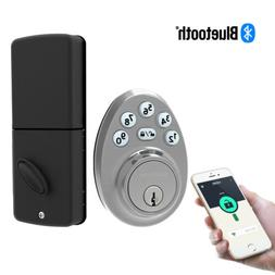Signstek Bluetooth Keypad Deadbolt Door Lock with Single Cyl