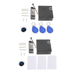 Electronic RFID Lock Cabinet Invisible Keyless Hidden Drawer