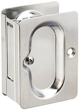 Cal Royal PASPDL3426D Passage Pocket Door Lock, Satin Chrome