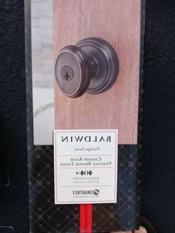 NEW Baldwin Carnaby Keyed Entry Door Knob Lock SmartKey Vene