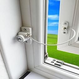 Clearance!!! Hongxin Baby Safety Lock Window Door Cable Vent