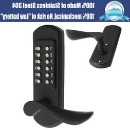 Combination Double Sided Mechanical Door Lock Keyless Entry