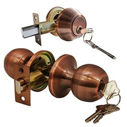 Constructor CHRONOS Combo Entry Knob Handle and Double Cylin