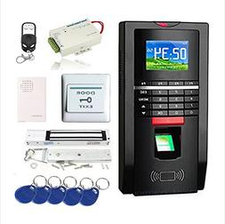 Complete Biometric Kits Fingerprint RFID Access Control Syst