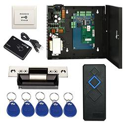 Complete TCP/IP Network Single Door Access Control Board Sys