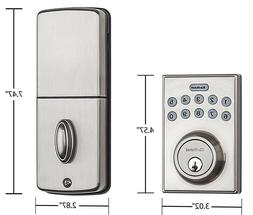 Kwikset 92640-001 Contemporary Electronic Keypad Single Cyli