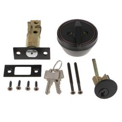 Cylinder Deadbolt Door Lock Security Dead Bolt Locks Privacy