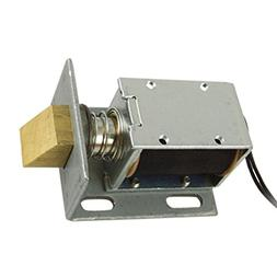 URBEST®DC 12V Open Frame Type Solenoid for Electric Door Lo