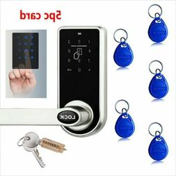 Digital Electronic Code Keyless Keypad Security Door Lock 5