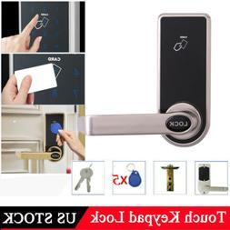 Digital Electronic Smart Password Door Lock Touch Keypad W/