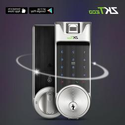 Digital Smart Door Lock for Outdoor APP + Fingerprint + Code
