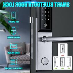 Digital WiFi bluetooth Remote Smart Door Lock Cell Phone App