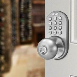 MiLocks DKK-02SN Keyless Entry Touchpad Door Knob Lock